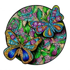 Beautiful Butterfly Wooden Puzzle For Adults Children Educational Toys Family Puzzle Games Gifts  DIY Crafts 10